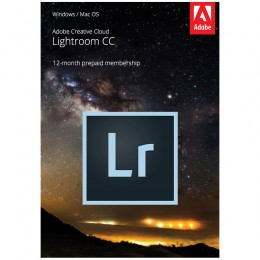Multimedia: Adobe Lightroom Creative Cloud Multi-Language 1 Gebruiker 1Jaar 1TB cloudopslag
