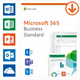 Office 365 Business: Microsoft 365 Business Standard | Annual subscription | 1User | 15 Devices