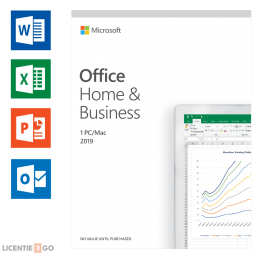 Office for business: Microsoft Office 2019 Home & Business Windows + Mac