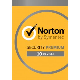 Total Security: Norton Security Premium 2020 - 10-Devices + 25GB Backup 1year
