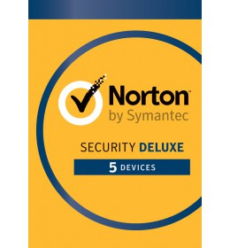Norton Security Deluxe 5-Devices 1year 2020 -Antivirus included- Windows | Mac | Android | iOS