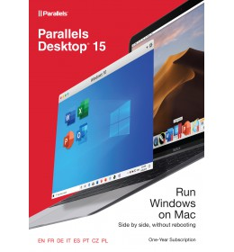 Parallels Desktop 15 for Mac 1Year