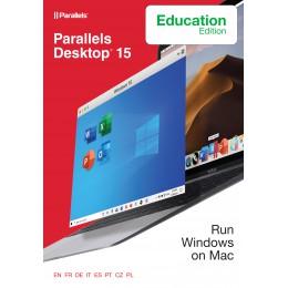 Backup and Repair: Parallels Desktop 15 for Mac - Edu versie 1Year